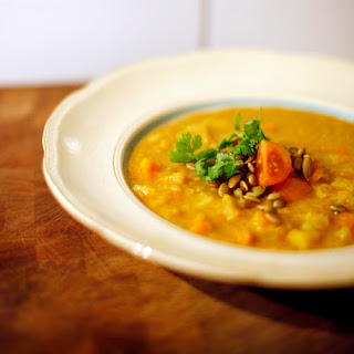 Indian Curry Lentil Soup Recipes.