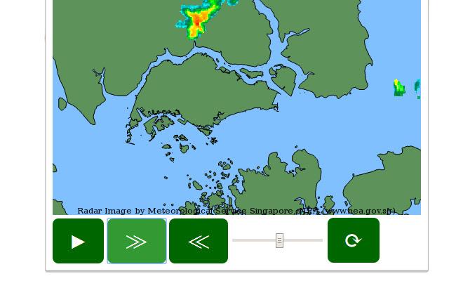 Singapore NEA Rain Areas Animation
