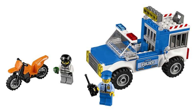 Contenido de Lego® 10735 Furgón de la Policía en Acción