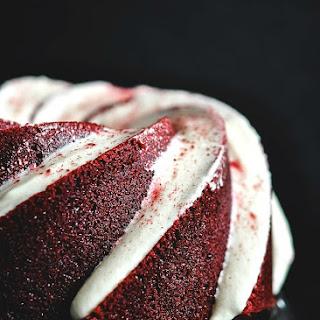 Beets and Beer Red Velvet Bundt Cake {#BundtBakers}