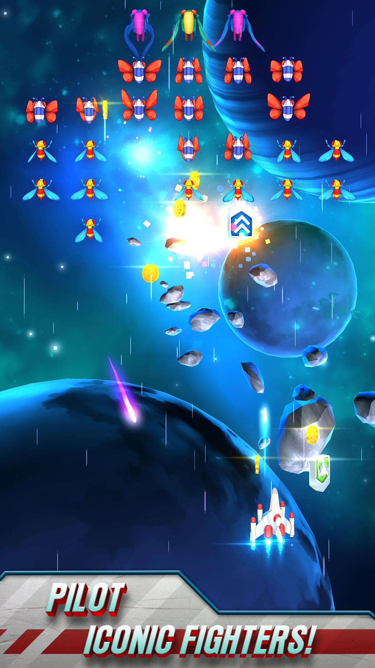 Galaga Wars screenshot #1