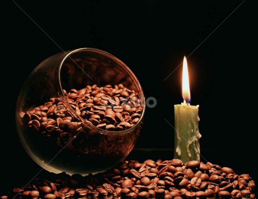 by Dipali S - Artistic Objects Still Life ( bowl, candle, pwc, still life, pwccoffee, coffee, artistic, pwcstilllife )
