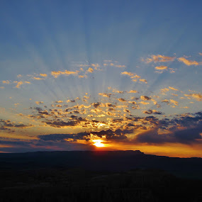 Sunrise at Bryce Canyon by Megan Whitehead - Landscapes Deserts