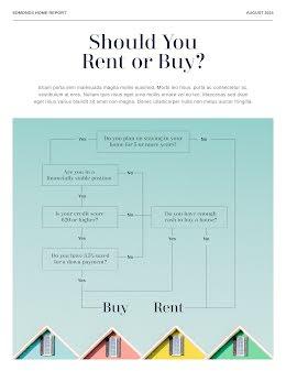 Rent or Buy - Flow Chart item