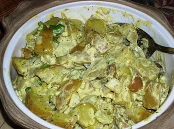 Spicy Potato Salad Recipe