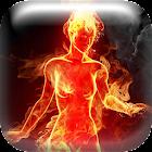 Fire Goddess Live Wallpaper icon