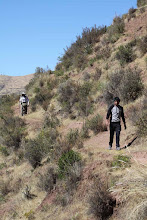 """Photo: El camino va paralelo al río """"Alturas"""" del valle del Urubamba"""