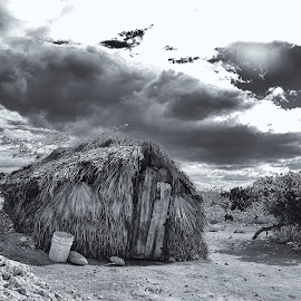 Simple Life by Al Duke - Black & White Buildings & Architecture ( haiti )