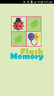 Flash Memory - Matching Pairs Puzzle - náhled