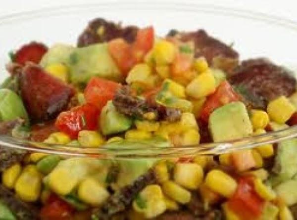 Corn, Avocado, And Tomato Salad Recipe