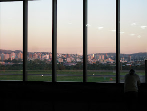 Photo: Porto Alegre Airport at Sunset
