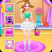 Ballerina Dancer Beauty Salon Mod