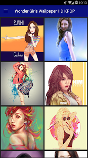 Wonder Girls Wallpaper HD KPOP - náhled