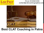 Do You Required Clat Coaching Institute in Patna