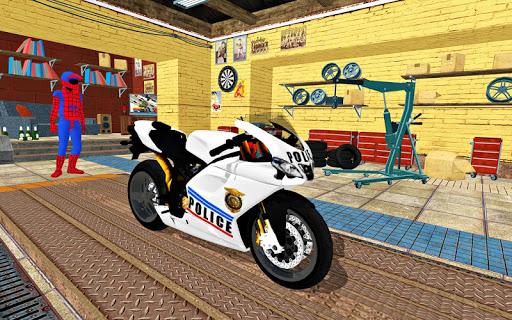 Bike Super Hero Stunt Driver Racing 1.0 screenshots 8