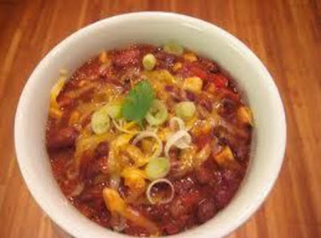 No Guilt Chili (vegetarian) Recipe