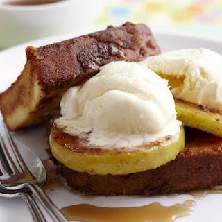 Pound Cake and Cinnamon Apple Ice Cream Sandwiches.