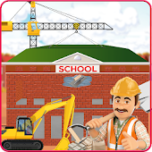 Build High School Building: Construction Simulator