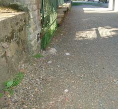 Photo: přístupový chodník