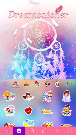 Dreamcatcher Kika Keyboard 23.0 screenshot 863196