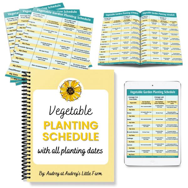 Vegetable Planting Schedule