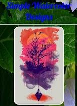 Simple Watercolor Designs - screenshot thumbnail 01