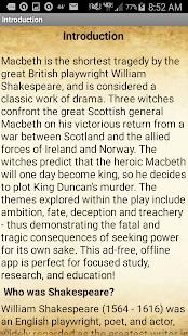 How is Macbeth a tragic hero?
