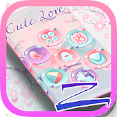 Cute Love ZERO Launcher