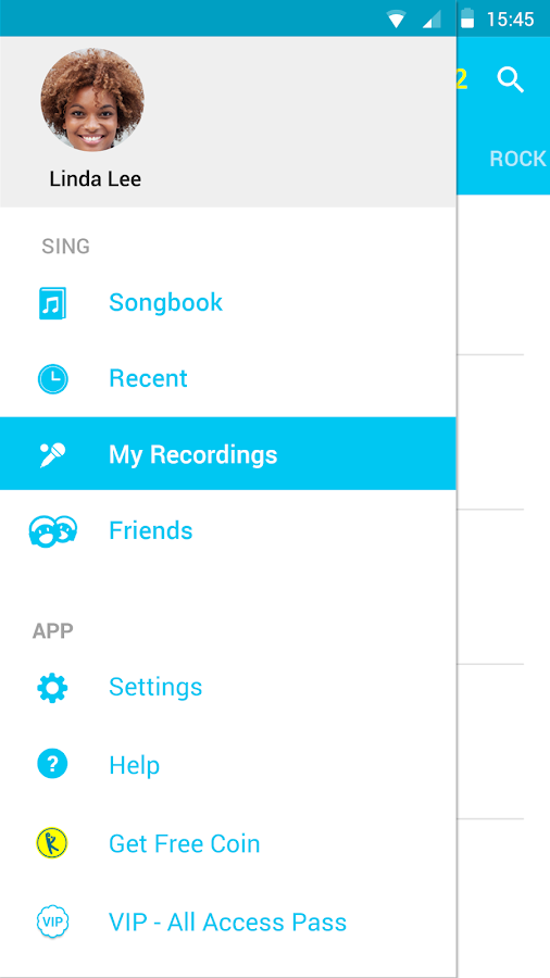 Screenshots of Karaoke Sing & Record for iPhone