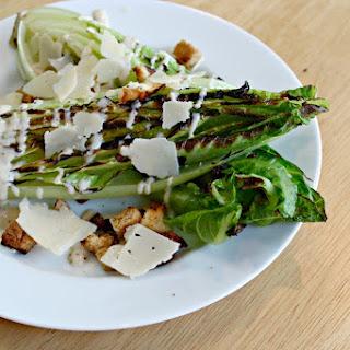 Easy Grilled Caesar Salad