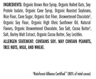 Clif Bar Original Bars: Chocolate Chunk with Sea Salt, Box of 12 alternate image 0