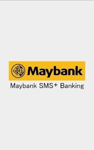 Maybank SMS+ Banking - náhled