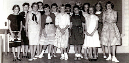 Photo: Page Elementary School 1958 5th grade