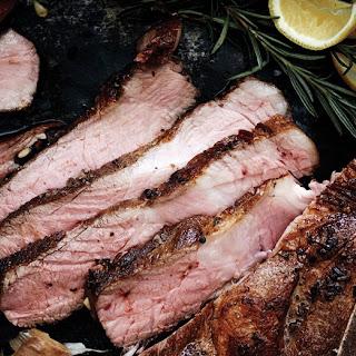 Pan-Seared Pork Blade Chop Recipe