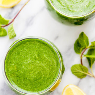 Green Apple, Kiwi, Spinach Juice.