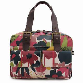 Wild Floral Box Tote Bag