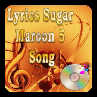 Lyrics Sugar Maroon 5 Song - náhled