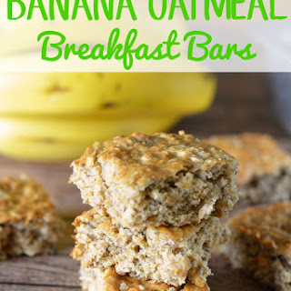 Banana Oatmeal Bars Recipes.