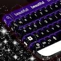 Keyboard Color Neon Purple icon