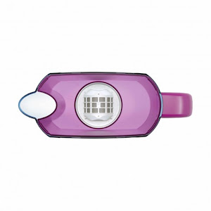 Cana filtranta Aquaphor Smile, 2.4 L, cu 2 cartuse A5 Mg