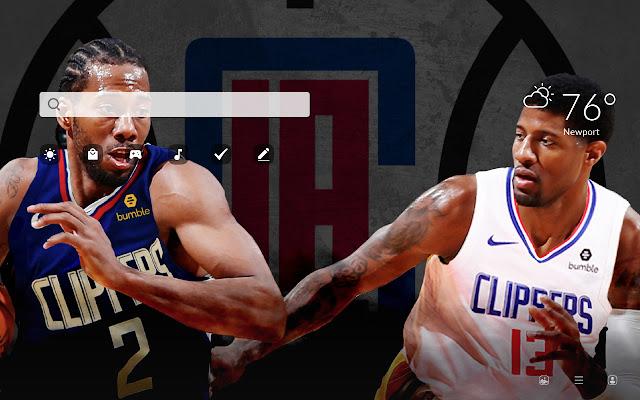 LA Clippers HD Wallpapers New Tab
