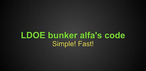 kode bunker alfa last day on earth