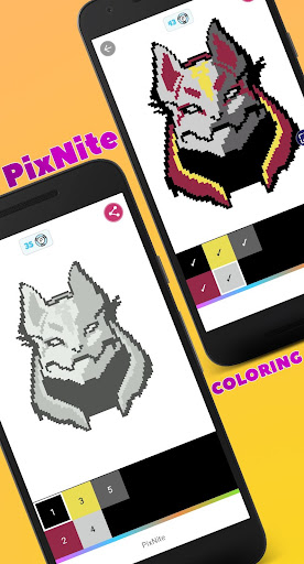 PixNite - Color by number - screenshot