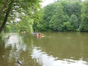 Photo: A už jsme na vodě.