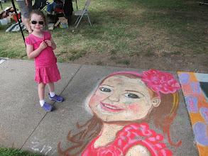 Photo: At Chalk-It-Up, 2013