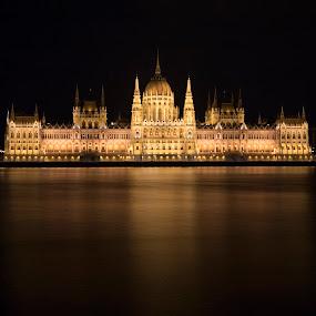 Budapest by Mark Richardson - Buildings & Architecture Public & Historical ( hungary, budapest, europe, paralment, danube )