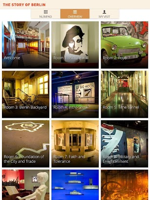 STORY OF BERLIN Guide App screenshot for Android