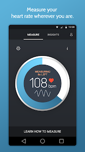 Instant Heart Rate Screenshot 1