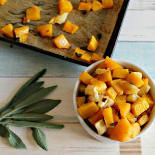Roasted Butternut Squash and Apples.