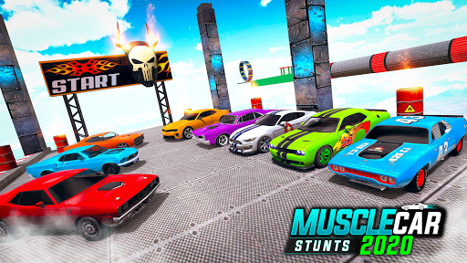Muscle Car Stunts 2020: Mega Ramp Stunt Car Games 1.2.1 screenshots 4